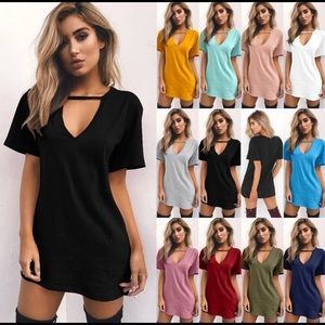Women Tshirt Dress